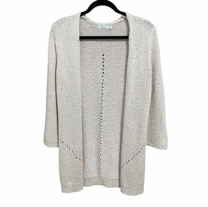 Open Front Cardigan XS
